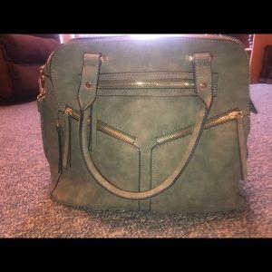 Olive Green Crossbody/shoulder bag